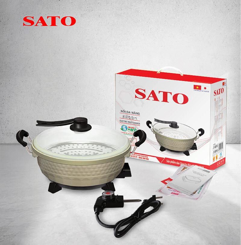 Nồi lẩu điện đa năng SATO ST-503HP