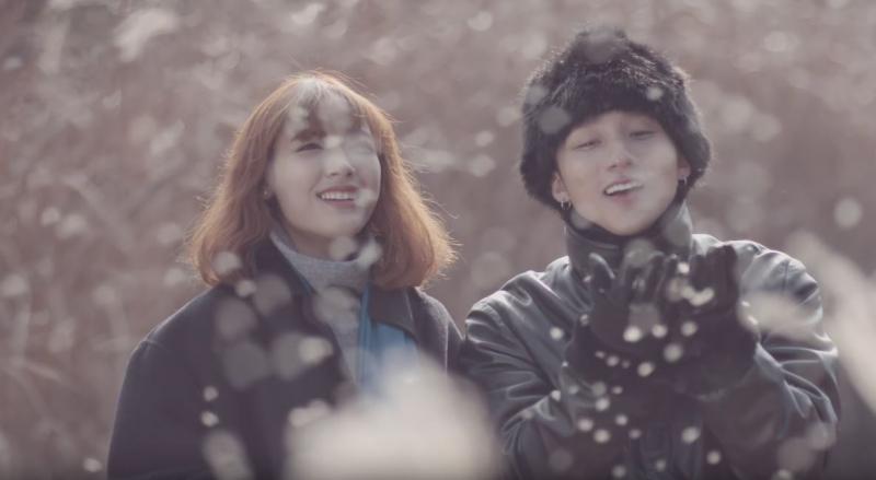 Cùng nhau ngắm tuyết trắng lãng mạn như trong phim Hàn Quốc