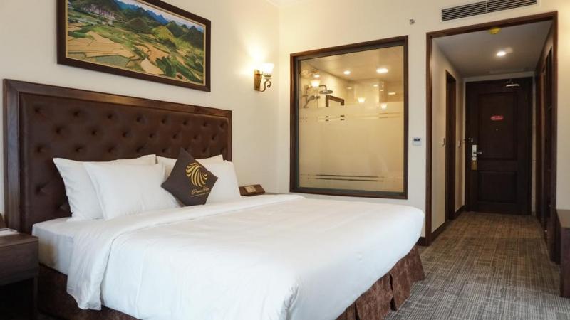 Một phòng khách sạn tại Hà Giang