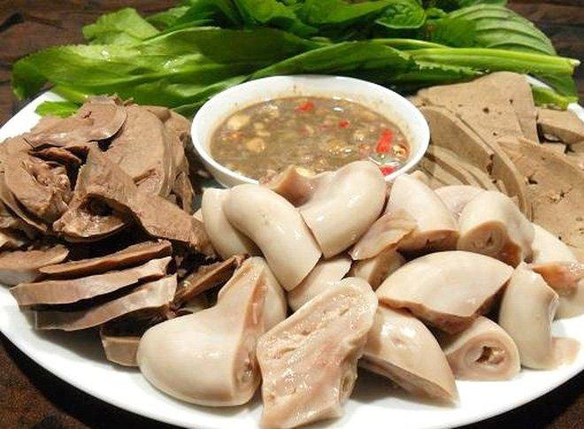 Món ăn từ nội tạng động vật