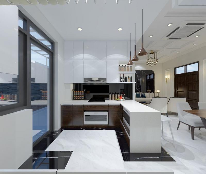 Top 5 địa chỉ thiết kế và thi công tủ bếp đẹp nhất tại Hải Phòng