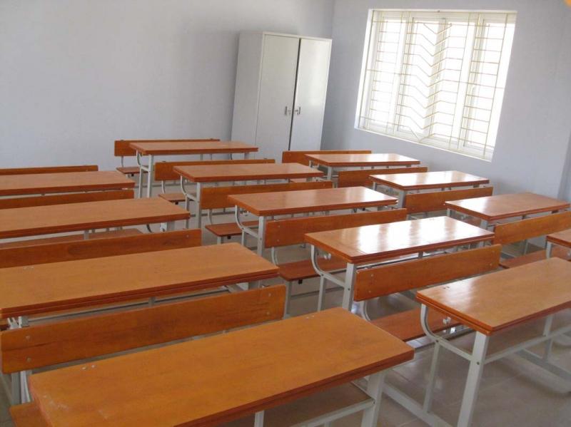 Bàn trường học Hòa Phát (Nguồn: Sưu tầm)