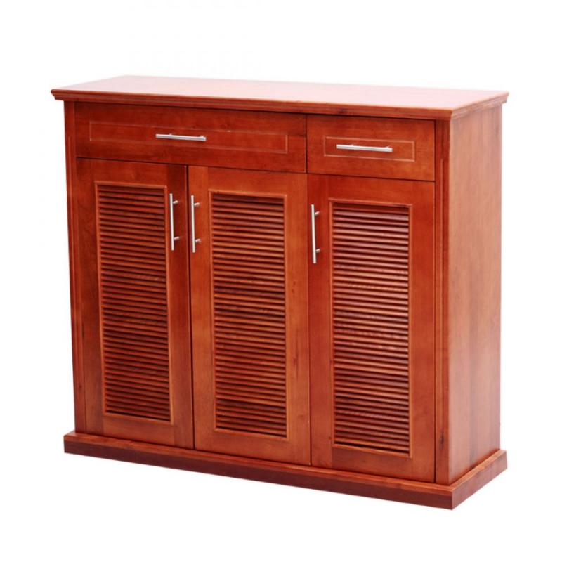 Mẫu tủ 3 ngăn cánh mở, giúp gia tặng diện tích sử dụng