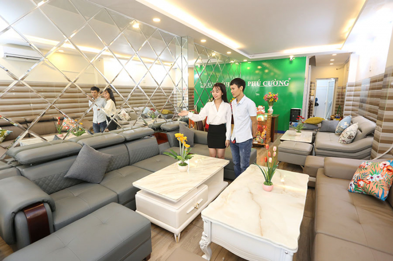 Thiết kế sofa nổi bật bởi sự sang trọng và đẳng cấp tại Nội thất Phú Cường