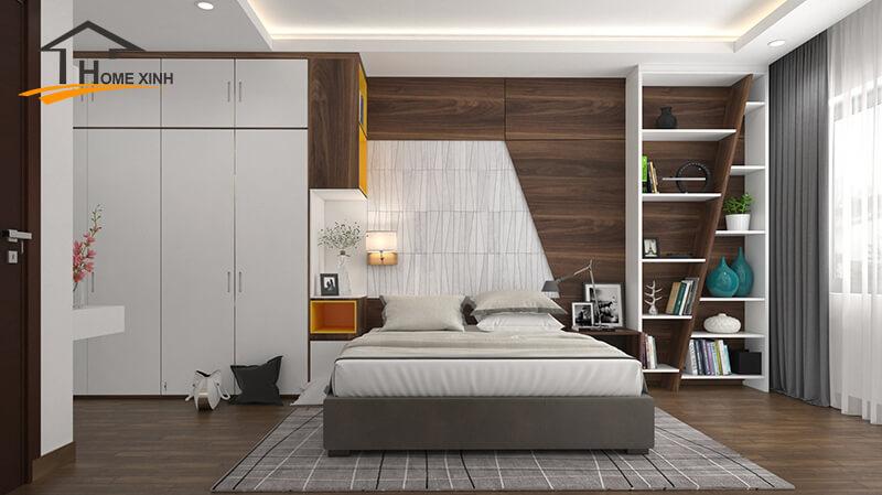 Hạn chế trang trí cây xanh trong phòng ngủ