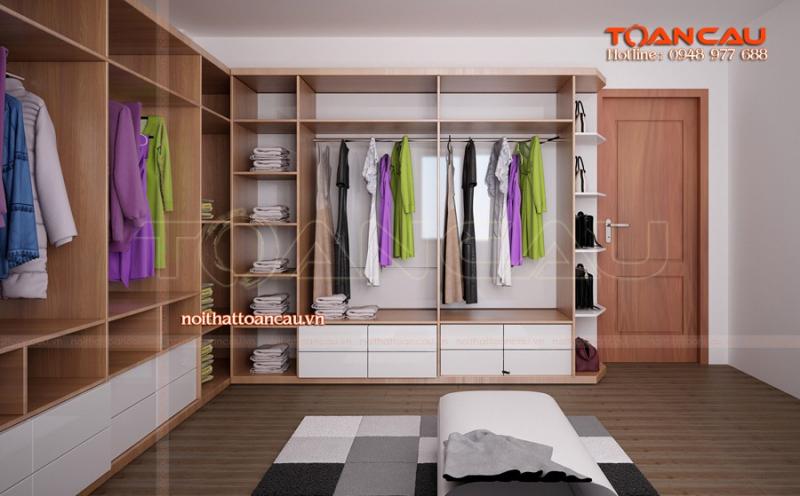 Tủ quần áo luôn là sự quan tâm hàng đầu cho nhu cầu sử dụng cũng như trang trí đẹp ngôi nhà của mỗi người