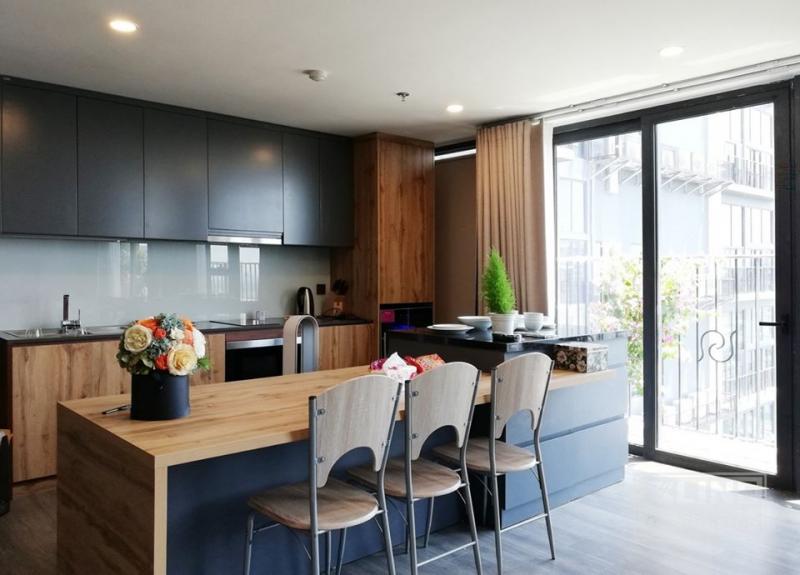 Thiết kế không gian nhà bếp do X Line thiết kế, thi công.