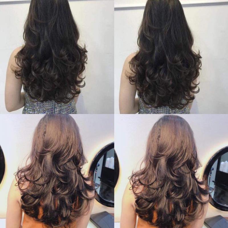 Nối tóc Hồng Anh