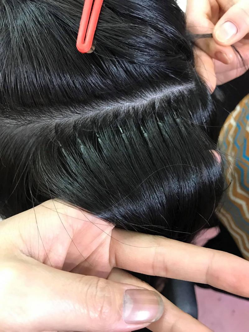 Tóc nối Quỳnh Nga