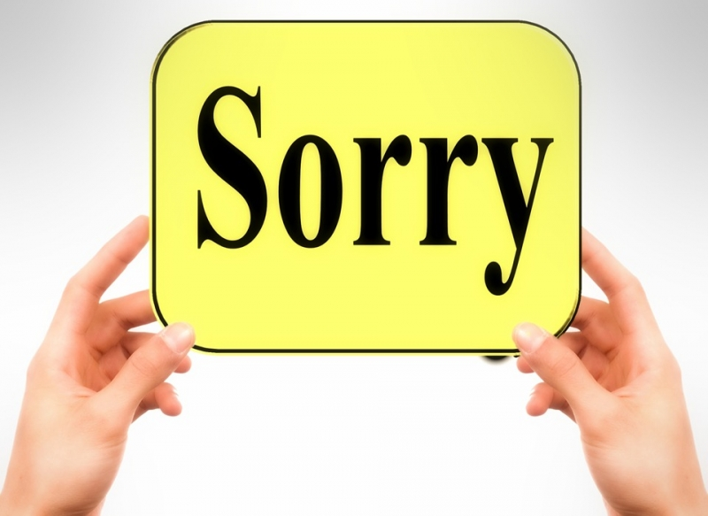 Nói xin lỗi