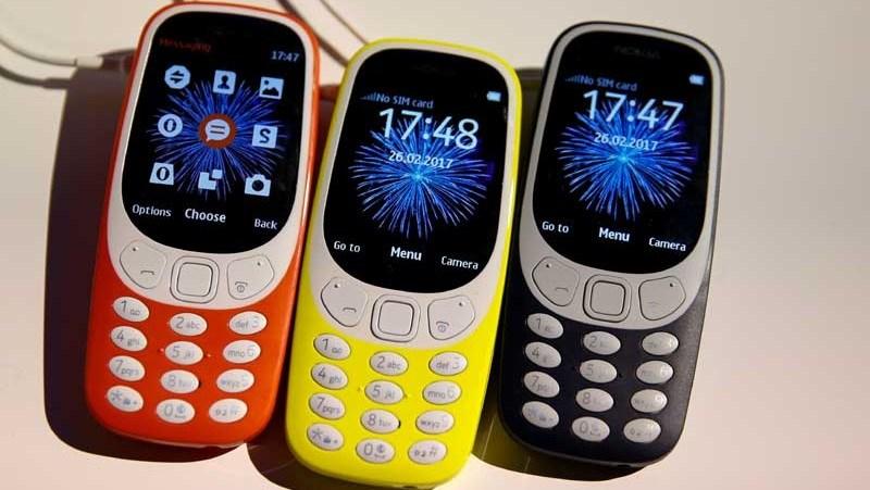 Nokia 3310 (2017) – Giá: 1.000.000 VND