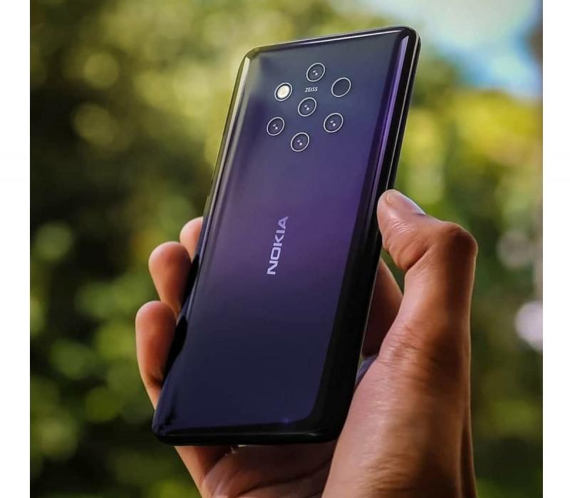 Hình ảnh thực tế về Nokia 9 Pure View
