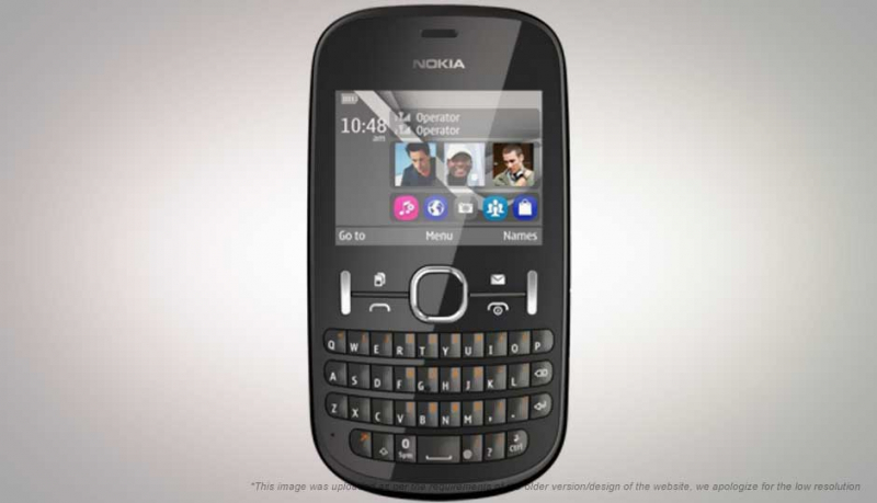 Nokia Asha 200 – Giá: 1.699.000 VND