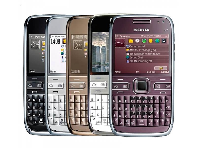 Nokia E72 – Giá: 850.000 – 2.000.000 VND