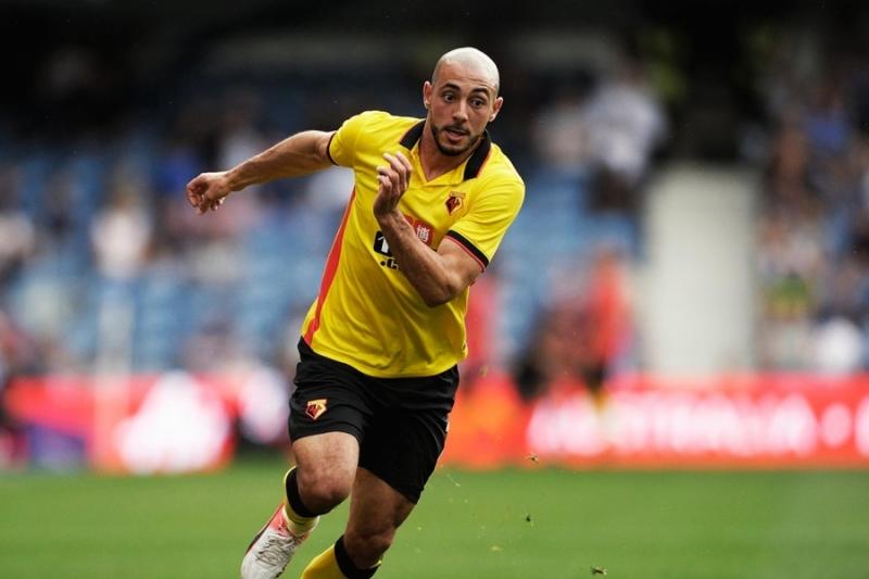Amrabat đang thi đấu cho Watford