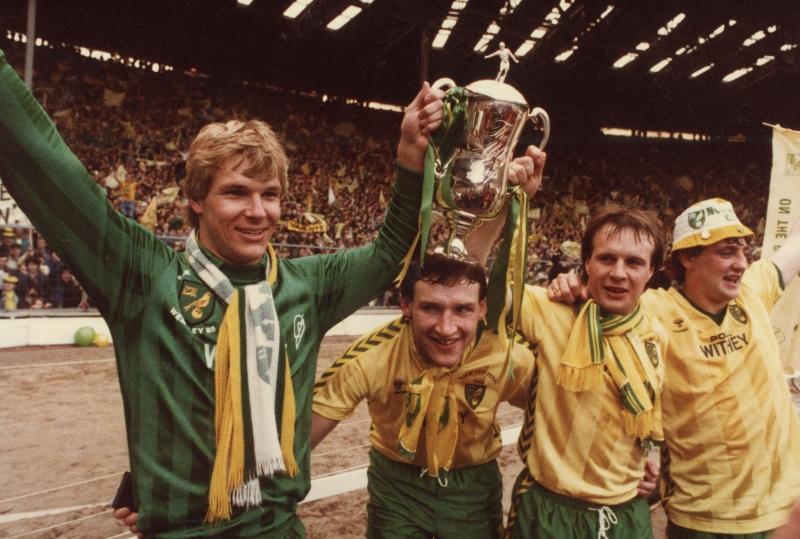 Norwich City vô địch giải đấu năm 1985