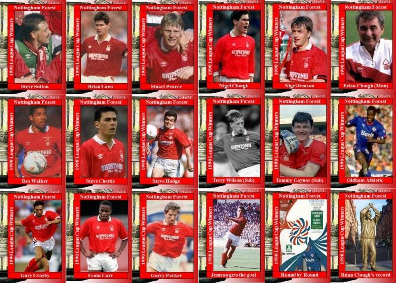 Đội hình của Nottingham Forest vô địch năm 1990