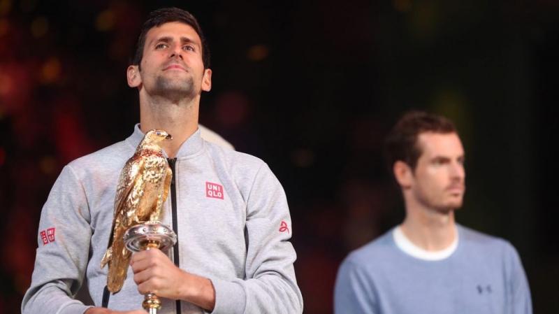 Djokovic vừa đánh mất vị trí số 1 thế giới vào tay Murray