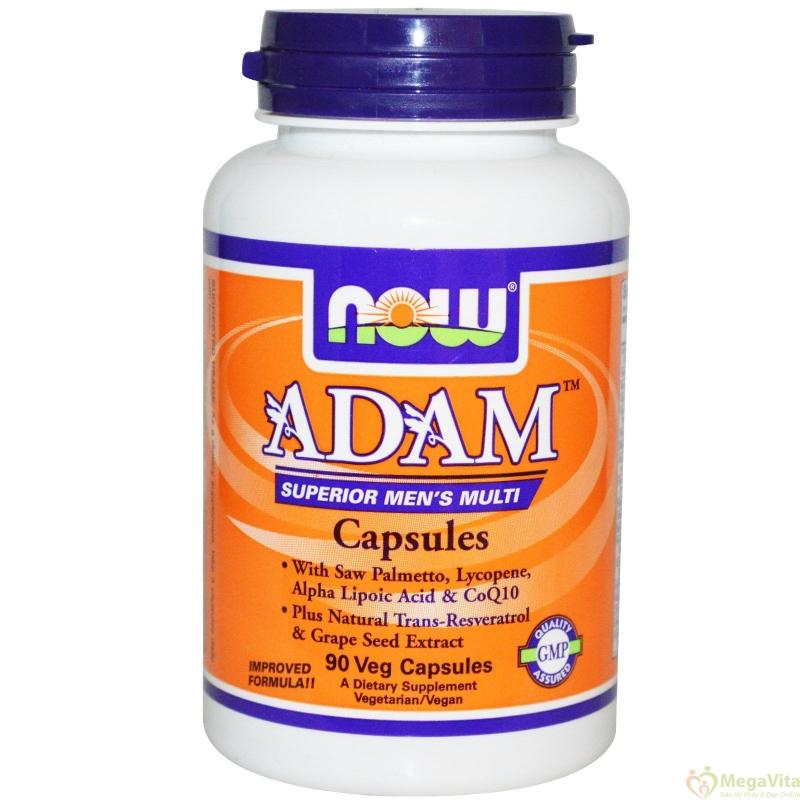 Now foods adam supperior men's multi