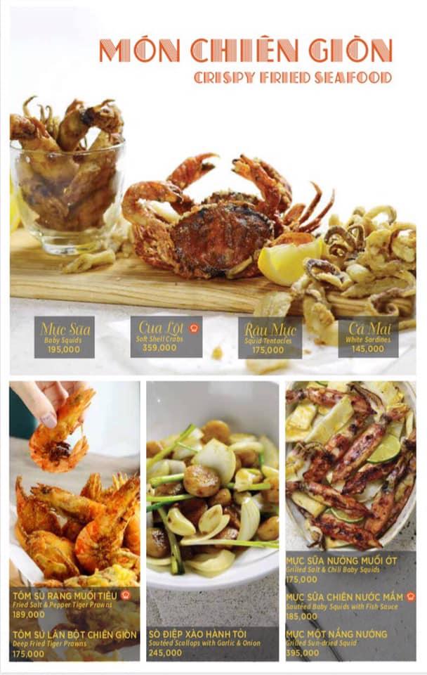 Top 6 nhà hàng hải sản ngon nổi tiếng quận Phú Nhuận, Tp. HCM