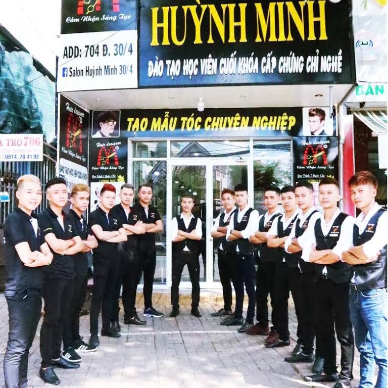 NTM tóc Huỳnh Minh