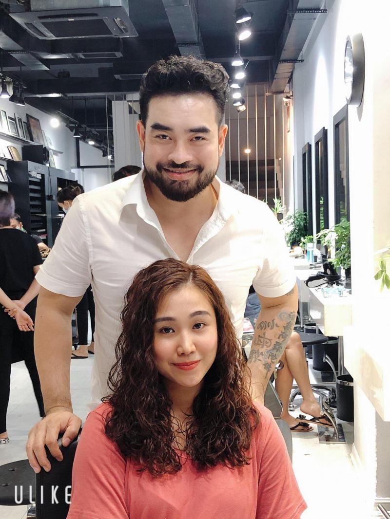 NTM tóc Lữ Hữu Tuấn (Salon Beo Vĩnh Hoàng)