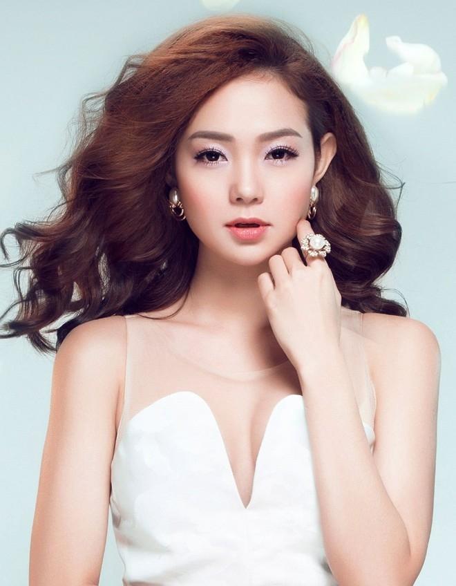Nữ diễn viên xinh đẹp Minh Hằng