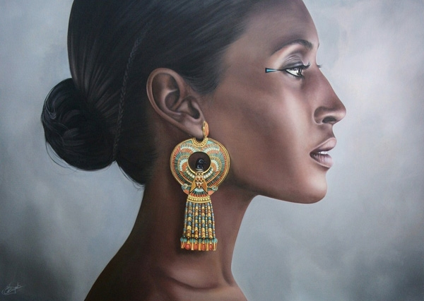 Tranh miêu tả Nữ hoàng Hatshepsut