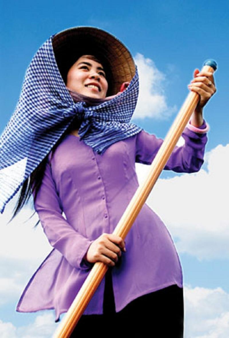 Chiếc áo bà ba bình dị mà duyên dáng như chính tính cách con người miền Nam