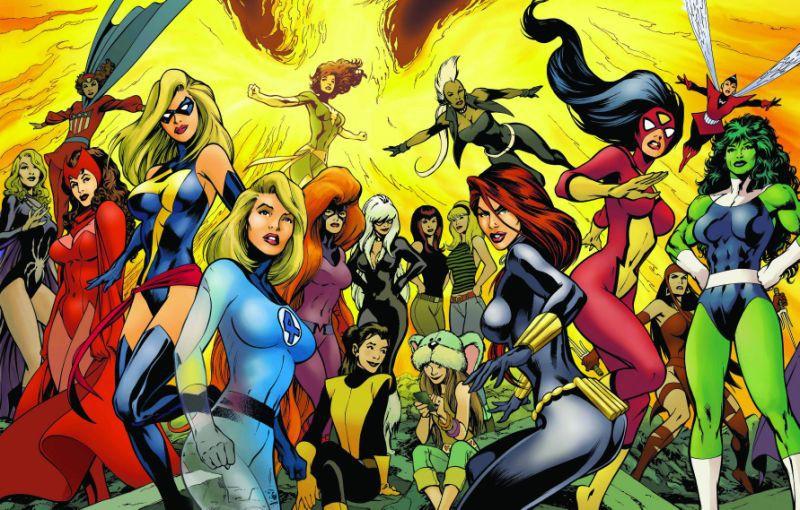 Top 10 nữ siêu anh hùng quyến rũ và quyền năng nhất