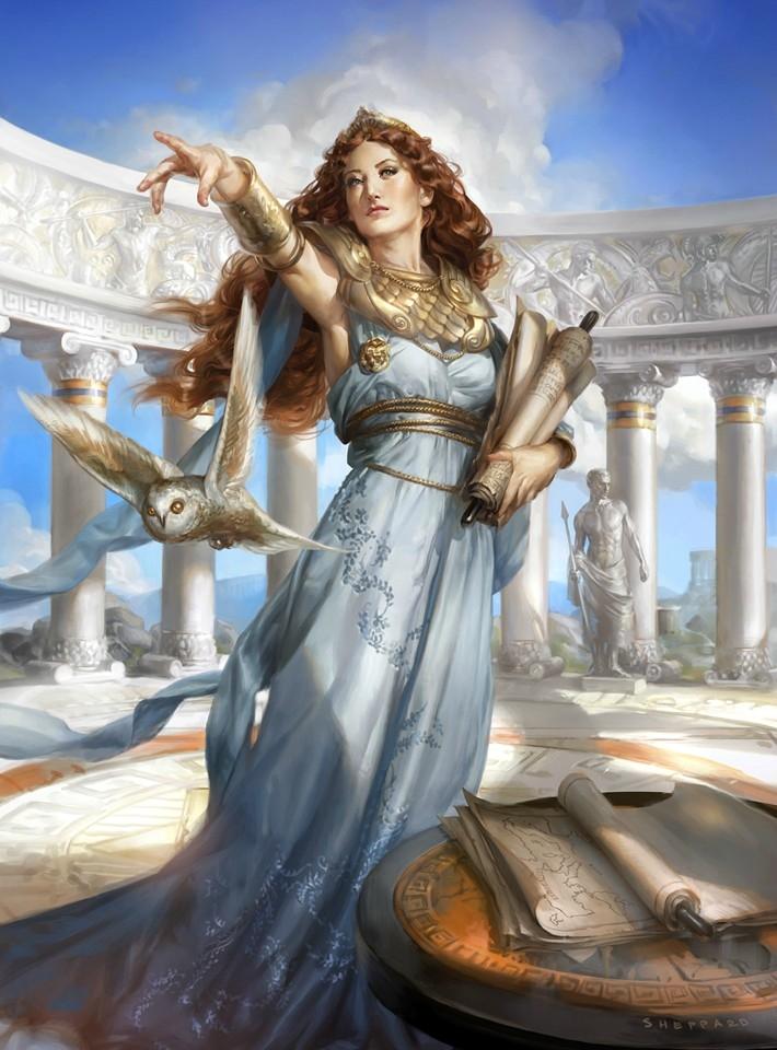 Nữ thần A-thê-na