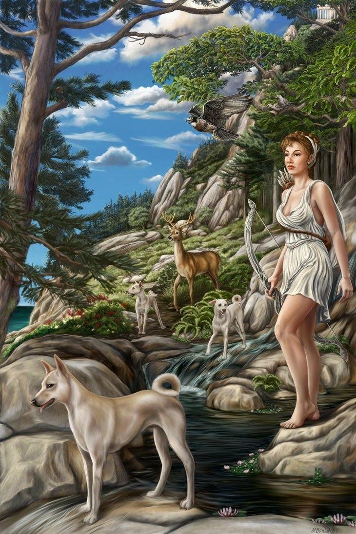 Nữ thần Ác-tê-mít