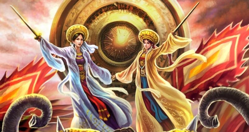 Hai Bà Trưng - Nữ vương đầu tiên trong lịch sử