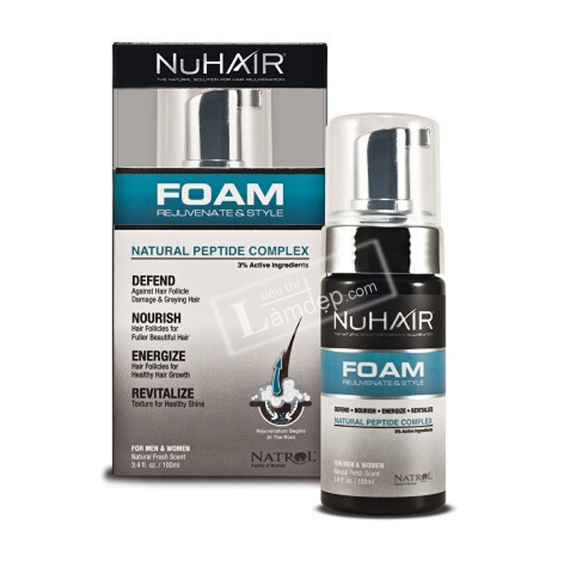 Nuhair Foam 100ml: