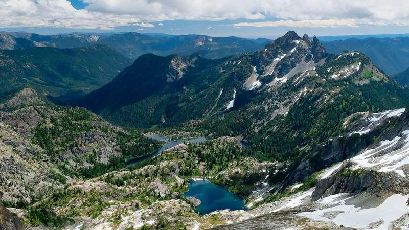 Núi Cascade, Washington, Mỹ