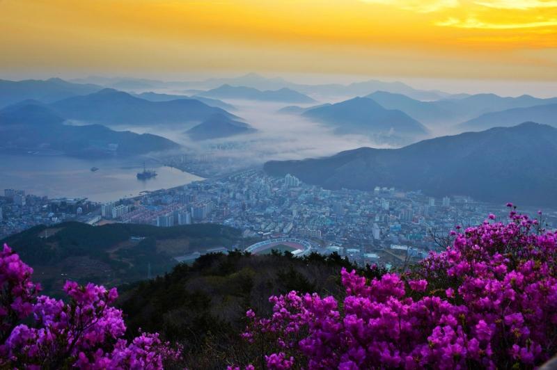 Vẻ đẹp huyền ảo, thơ mộng của vườn quốc gia Gyeryongsan