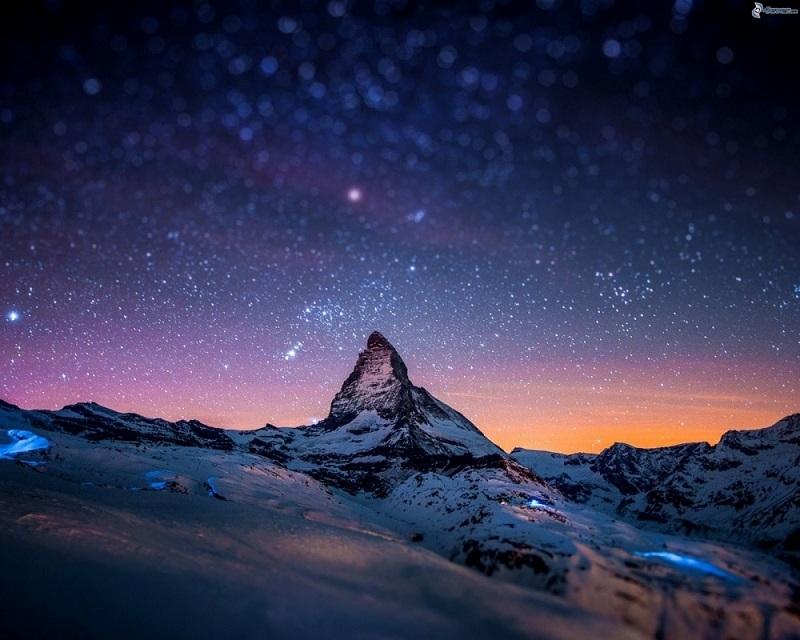 Vẻ đẹp của núi Matterhorn
