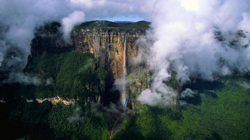 Núi Roraima, Venezuela/Brazin/Guyana