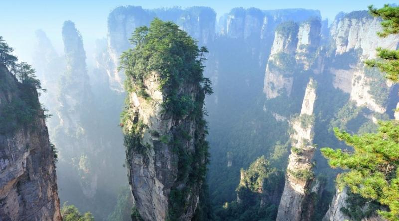 Núi Tianzi – Trung Quốc
