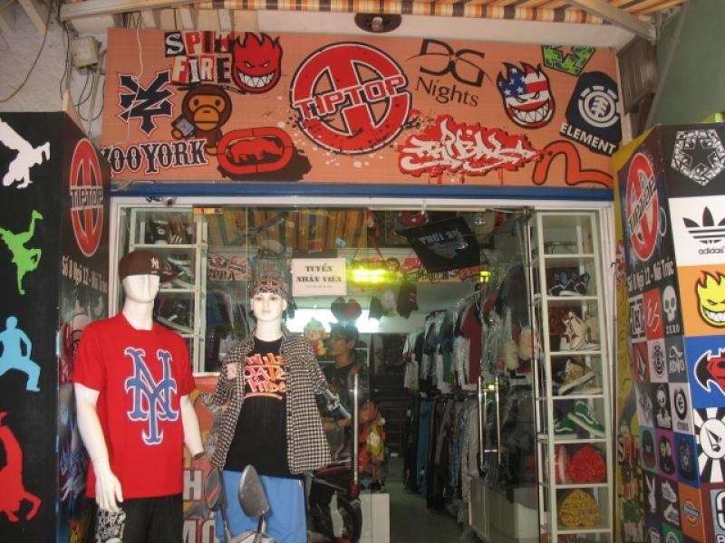 Cách bày trí các cửa hàng đậm chất hiphop