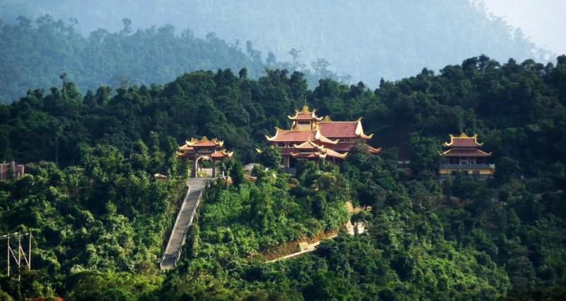 Image result for chùa yên tử tripnow.com