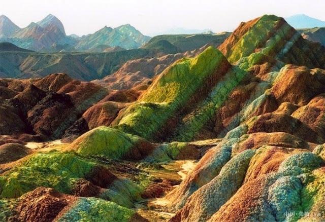Núi Zhangye Danxia