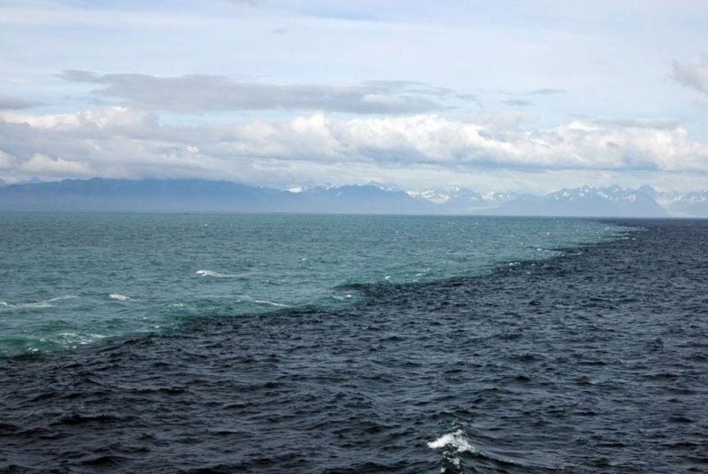 Nước biển hai màu ở Skagen,Đan Mạch