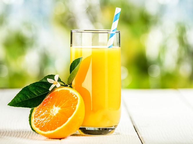Nước cam giúp thanh nhiệt cơ thể rất tốt