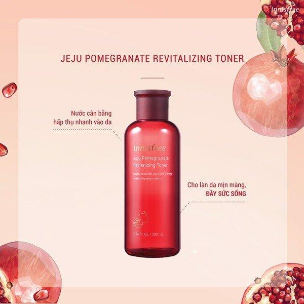 Innisfree Jeju Pomegranate Revitalizing Toner (200ml)