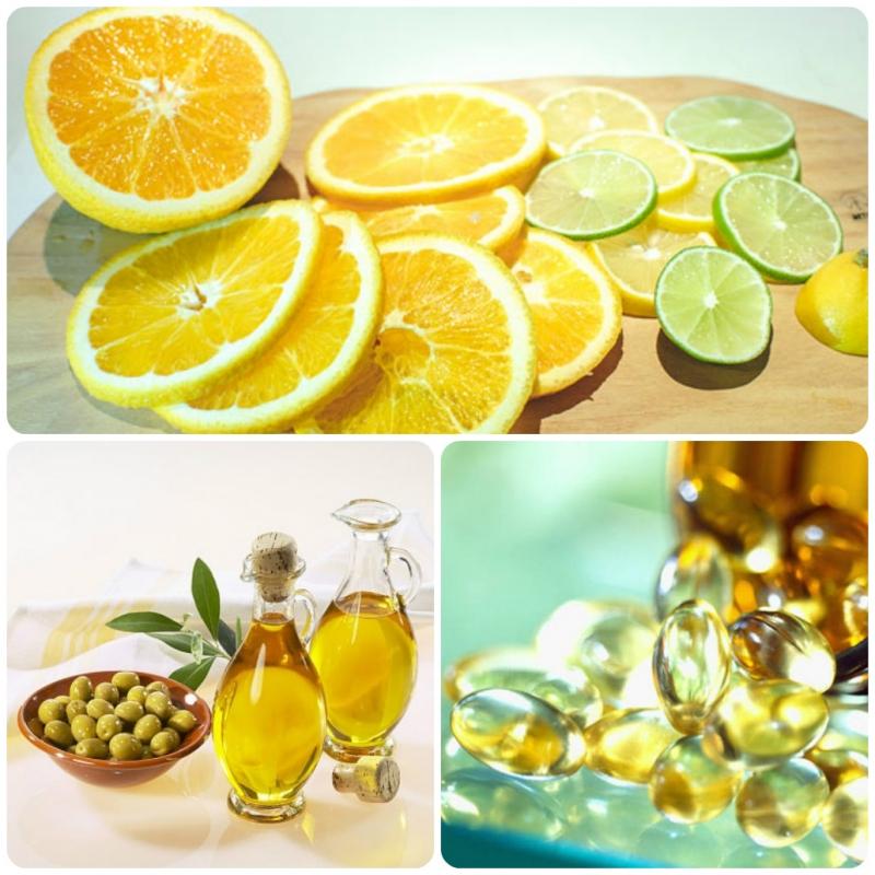 Trị rạn da bằng nước cốt chanh, dầu ô liu và vitamin E
