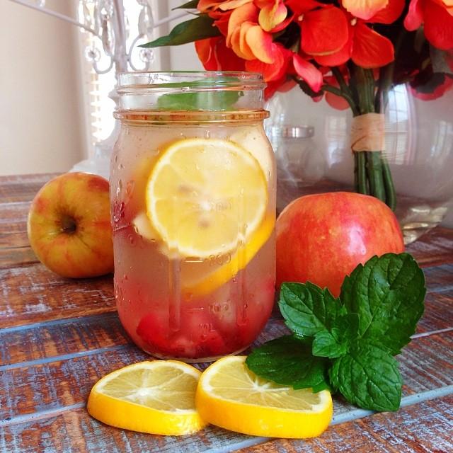 Detox táo và cam