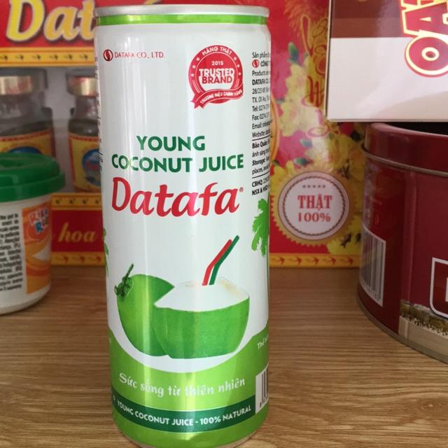 Nước dừa tươi DATAFA