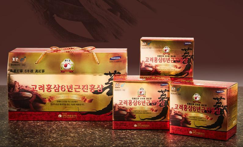 Nước Ép Hồng Sâm 6 Năm Tuổi Hàn Quốc Songhak Thượng Hạng Mẫu Mới Nhất