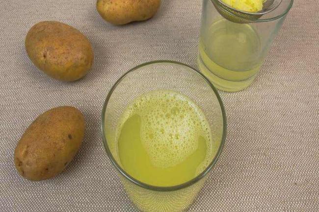 Nước ép khoai tây tốt cho sức khỏe